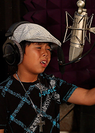 Sam Santiago - Pop Singer Trained by Vocal Coach Thomas Appell at APPELL VOICE STUDIO in Orange County, CA